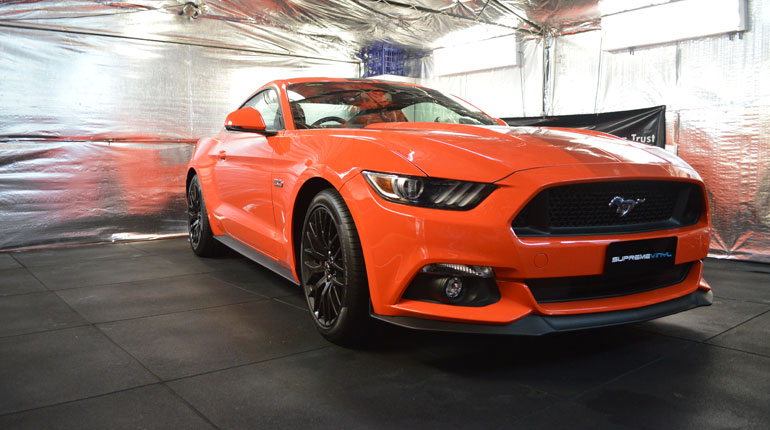 Supreme Vinyl Ford Mustang Paint Protection Canberra