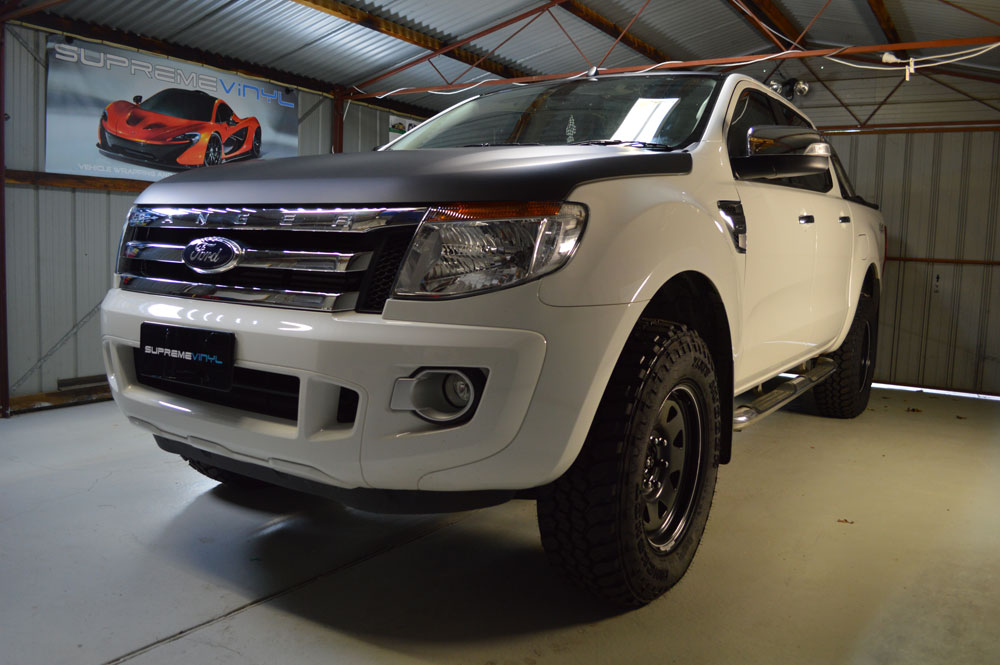 Car Paint Protection >> Supreme Vinyl - Ford Ranger Vinyl Wrap Canberra