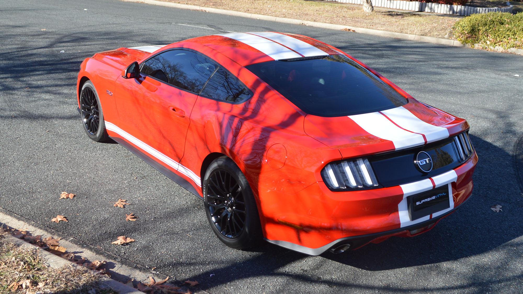 Supreme Vinyl Ford Mustang